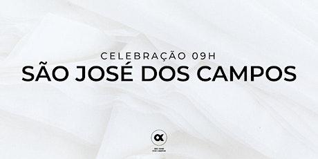 CULTO SÃO JOSÉ DOS CAMPOS 01/08 - 09h00 ingressos