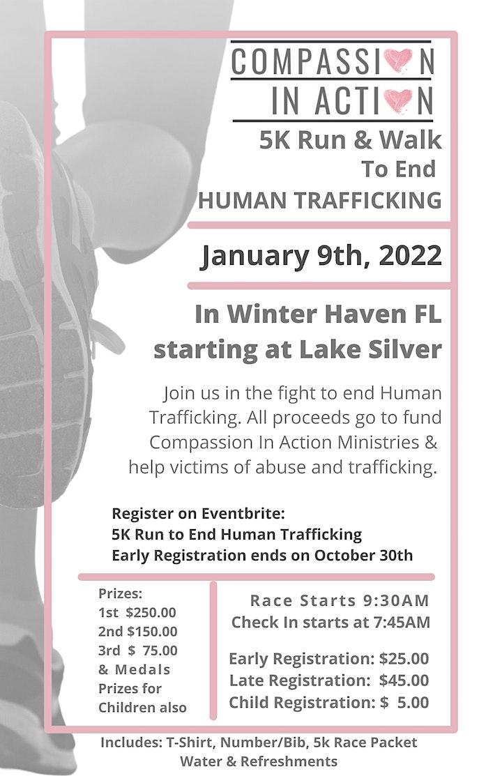 5K Run to End Human Trafficking image