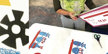 Storybag Printing with Ellen Rock tickets