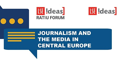 Ratiu Dialogues on Democracy:  Journalism and the media in Central Europe tickets