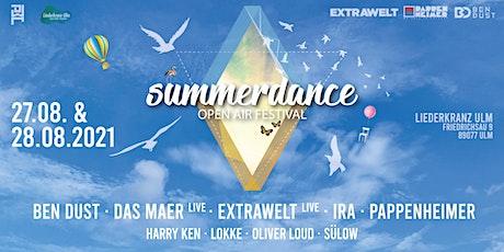 Summerdance Openair Festival w/ Extrawelt, Pappenheimer,Ben Dust, Ira, Das Tickets