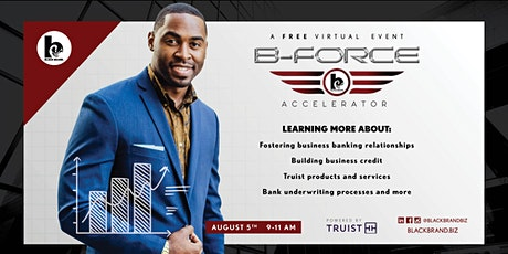 B-Force Accelerator Exclusive Event: Business Capital billets