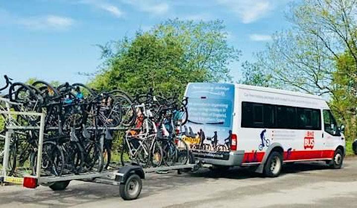 'Bike Bus' to Dartmoor for Bike Ride from Cadover Bridge image