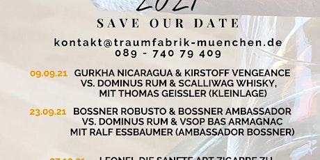 Zigarren und Spirituosen Tasting - mit Thomas Geissler (Kleinlagel) Tickets