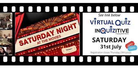 Saturday Virtual Quiz 31st July 2021 tickets