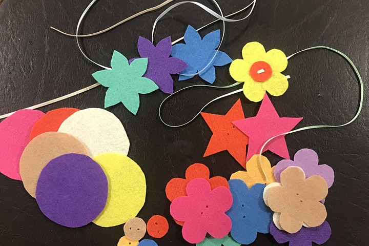 Join Jacqui from Purlwise - Fun with Felt Time - ages 5-8 image
