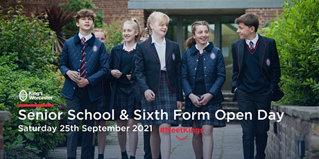 King's Worcester Senior School & Sixth Form Open Day tickets