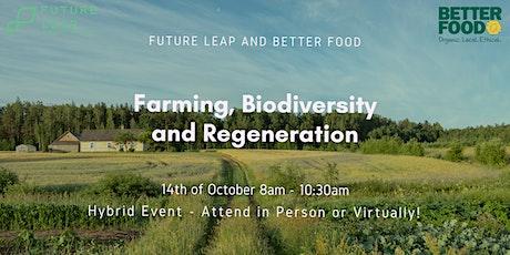 Farming, Biodiversity and Regeneration tickets