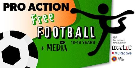 FREE Media & Football Summer Activity (Age 12 - 16) tickets