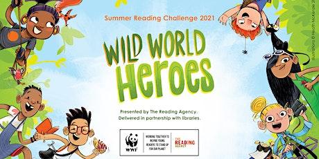 Wild World Heroes Craft Activity tickets