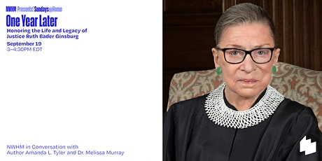 One Year Later: Honoring the Life and Legacy of Justice Ruth Bader Ginsburg biglietti