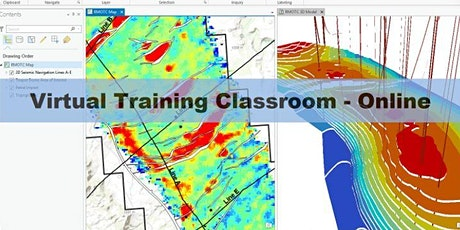 ArcGIS Coordinate Reference Systems for Petroleum - 1 Day Online Course tickets