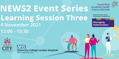 NEWS2 Event - Learning session Three tickets