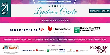 Changing the Narrative - Lender Circle Tickets