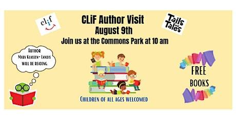 CLiF Author Visit tickets