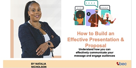 How To Build An Effective Presentation & Proposal tickets
