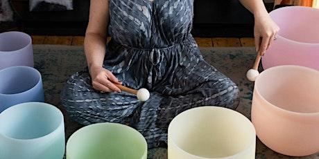 Online Meditation and Sound Bath tickets