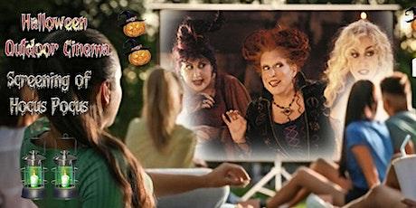 Halloween showing of Hocus Pocus on Northampton's Outdoor cinema tickets