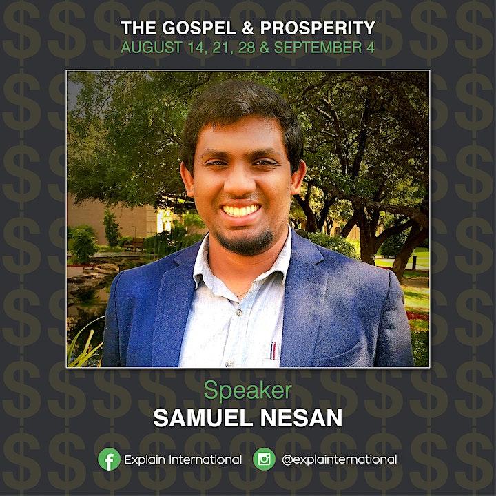The Gospel & Prosperity image