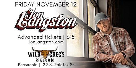 Jon Langston Live in Concert!! tickets