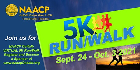 "NAACP DeKalb ""Virtual"" 5K Run/Walk tickets"