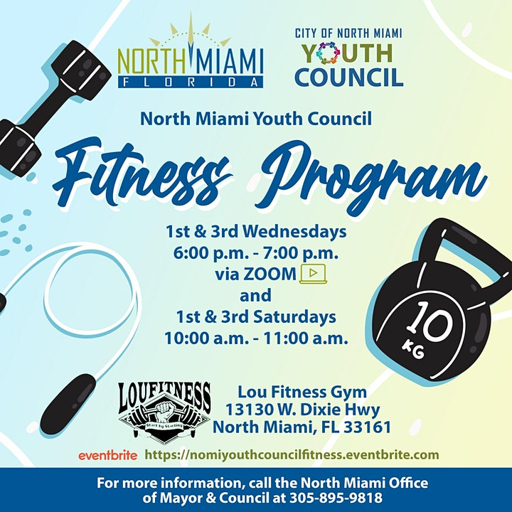 North Miami's Youth Council Fitness Program image