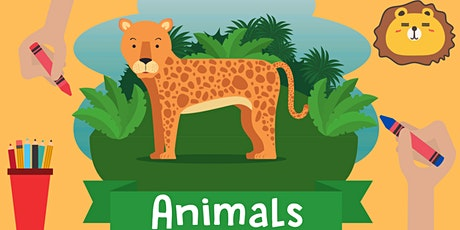 Mermaid Art Studios Cartoon Animal Faces tickets