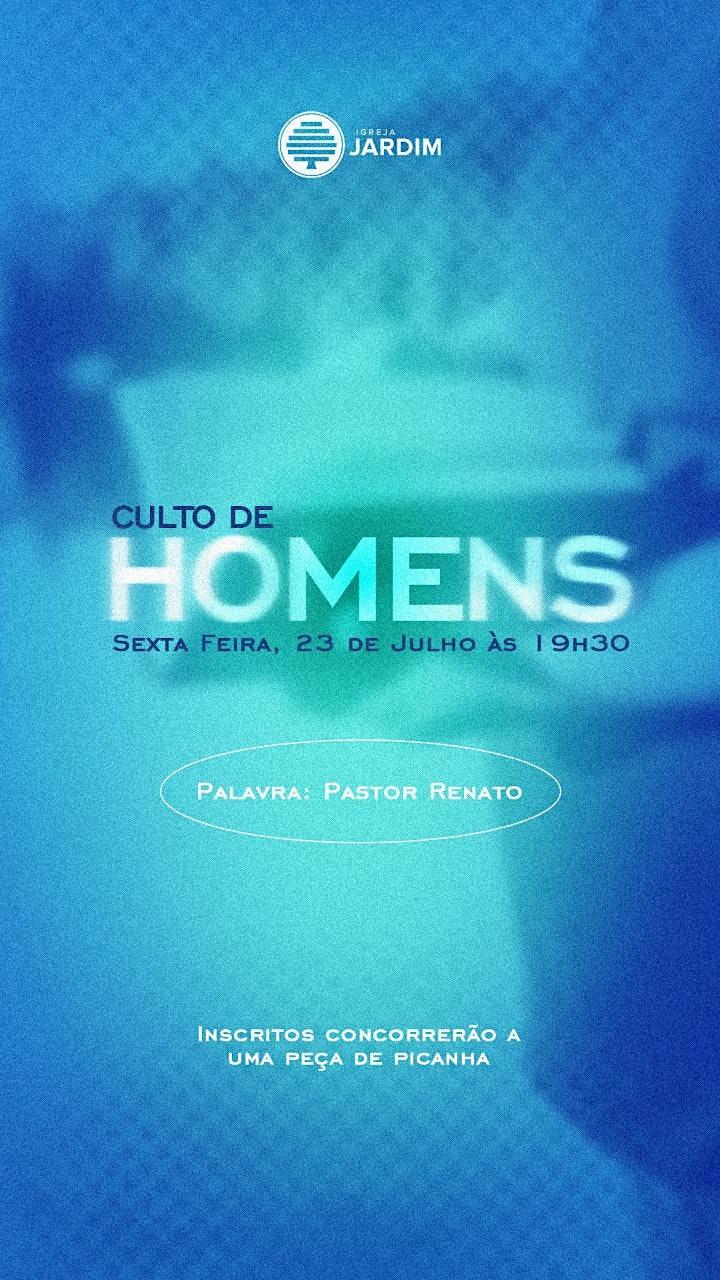 Imagem do evento CULTO DOS HOMENS