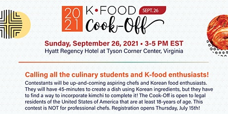 K-food Cook-Off tickets