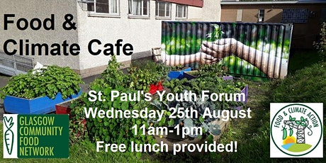 Food & Climate Cafe Glasgow North - Seeds of Change. tickets