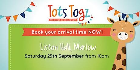 Tots Togz Sale Marlow Saturday 25th September 2021 tickets