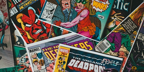 Poetry comic books: Summer Holiday workshops tickets