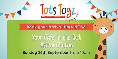 Tots Togz Sale Aston Clinton Sunday 26th September 2021 tickets