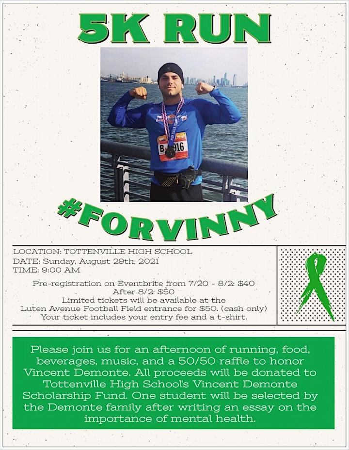 5K Run #ForVinny image