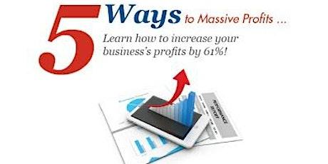 Marketing Strategies to grow your profits! biljetter