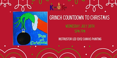 Grinch Countdown to Christmas Canvas Painting tickets