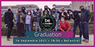 BeCode Brussels Graduation – 2