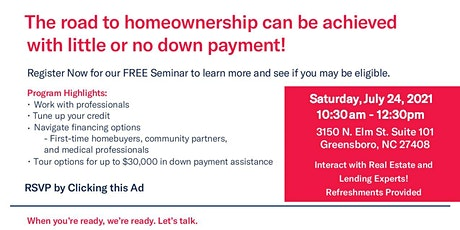 Road to Home Ownership Seminar tickets
