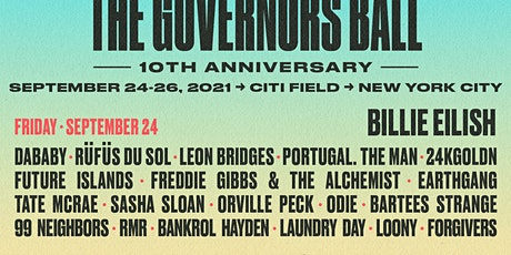 Governor's Ball 2021 - NY Metro Mankind Project Volunteers tickets