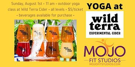 Yoga at Wild Terra Cider tickets