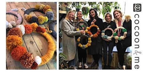 Pom Pom Wreath Workshop - Worthing tickets