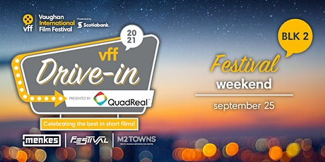 VFF 2021 Drive-In: International Block 2 (Festival Weekend) tickets
