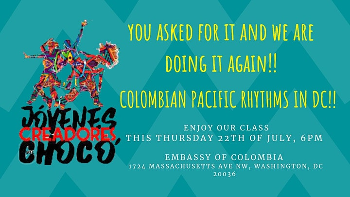 Enjoy Colombian Pacific Rhythms and dance your heart out image