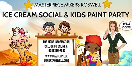 Kids Paint Class and Ice Cream Social tickets