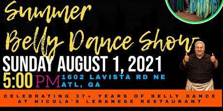 Raqs Nicola! Summer Belly Dance Showcase tickets