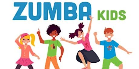 Zumba Kids! 4 class pass tickets