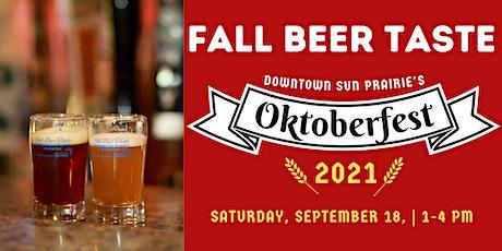Fall Beer Taste tickets