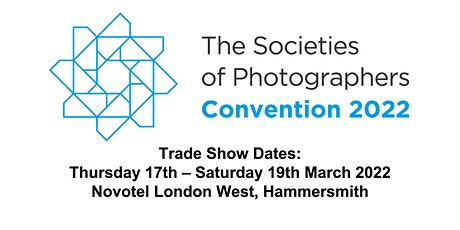 The Societies of Photographers 2022 London Photo Trade Show tickets