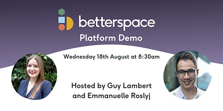 BetterSpace Demo: The Future of Workplace Wellbeing tickets