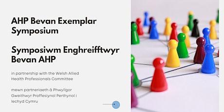 AHP Bevan Exemplars Symposium / Symposiwm Enghreifftwyr Bevan AHP tickets